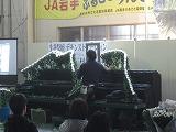 浜松生花卸売市場での葬儀用生花祭壇講習会の様子3