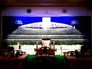 大型生花祭壇装飾 花屋さんとコラボレーション作品② IN信州